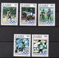 ZAIRE  Timbres Neufs ** De 1984  ( Ref 5765 ) Sport - JO  - - Zaïre