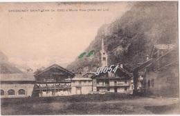 Aosta Gressoney Saint Jean 1929 - Italie