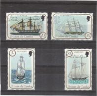 V1 - Tristan Da Cunha 323 / 326** MNH De 1983 - Bateaux - Voiliers: Roscoe - Columbia - Islander - Emeline. - Tristan Da Cunha
