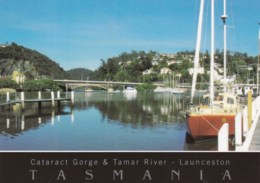Cataract Gorge And Tamar River, Launceston, Tasmania - Unused - Lauceston