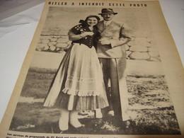 AFFICHE PHOTO  HITLER A INTERDIT CETTE PHOTO 1940 - 1939-45