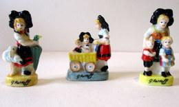 Fèves Brillantes X3 - L'Alsace Selon G. Ratkoff - - Characters