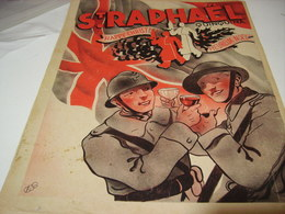 ANCIENNE PUBLICITE HEUREUX NOEL ST RAPHAEL 1940 - 1939-45