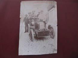 Photo Originale - AUTOMOBILE - VIGNORY ? (écrit Au Dos) - Format : 11 X 16 Cm - Cars