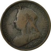 Monnaie, Grande-Bretagne, Victoria, 1/2 Penny, 1898, TB, Bronze, KM:789 - 1816-1901 : Coniature XIX° S.