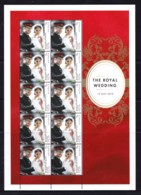 Australia 2018 The Royal Wedding Sheetlet MNH - 2010-... Elizabeth II