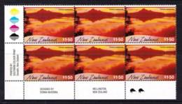 New Zealand 2000 Scenic Reflections $1.50 Tairua Harbour Control Block Kiwi Reprint MNH - New Zealand