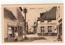 Koekelare.  -  Dorpstraat (met Herberg De Kroon) - Koekelare
