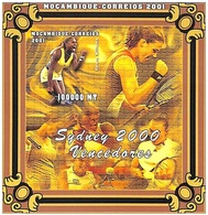 MOZAMBICO  2001, Olimpia Sydney 2000 Serie Cpl. 1BF Imperforated Nuovo** Perfetto - Mozambico