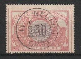 MiNr. 35  Belgien, Eisenbahnpaketmarken / 1902, 25. Juli/1906, 1. Jan. Ziffernzeichnung, Zweisprachiger Text; Geflügelte - Belgien