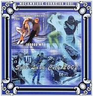 MOZAMBICO  2001, Salt Lake City 2002 Serie Cpl. 1BF  Nuovo** Perfetto - Mosambik