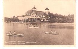 Knokke A/Zee-Knocke S/Mer-1949-Albert-Strand-Plage-Pavillon Du Lac-Canotage-Barques-animée - Knokke