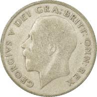 Monnaie, Grande-Bretagne, George V, Shilling, 1921, B+, Argent, KM:816a - 1902-1971 : Monnaies Post-Victoriennes