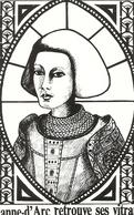 Cpm Thouars Jeanne D'arc Retrouve Ses Vitraux1987 - Thouars