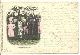 56 - COSTUMES Du MORBIHAN / CARTE PRECURSEUR 1900 - Non Classés