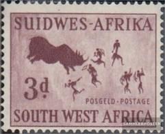 Namibia - Südwestafrika 281 MNH 1954 Petroglifi - South West Africa (1923-1990)
