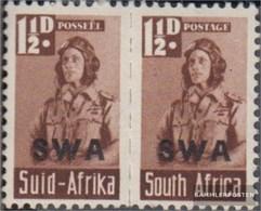 Namibia - Südwestafrika 234-235 Waagerechtes Paar Postfrisch 1942 Rüstungsbilder - Südwestafrika (1923-1990)