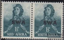 Namibia - Südwestafrika 220-221 Waagerechtes Paar Postfrisch 1941 Rüstungsbilder - Afrique Du Sud-Ouest (1923-1990)