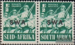 Namibia - Südwestafrika 216-217 Waagerechtes Paar Postfrisch 1941 Rüstungsbilder - Afrique Du Sud-Ouest (1923-1990)