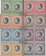Namibia - Südwestafrika 182-197 Waagerechte Paare (kompl.Ausg.) Postfrisch 1937 König Georg VI. - Südwestafrika (1923-1990)