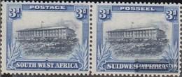 Namibia - Südwestafrika 146-147 Waagerechtes Paar Postfrisch 1931 Landesmotive - Afrique Du Sud-Ouest (1923-1990)