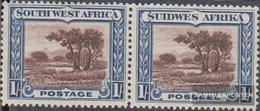 Namibia - Südwestafrika 152-153 Waagerechtes Paar Postfrisch 1931 Landesmotive - Afrique Du Sud-Ouest (1923-1990)