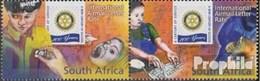 Afrique Du Sud 1633-1634 Couple (complète.Edition.) Timbres Prémier Jour 2005 Rotary International - FDC