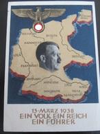 Postkarte Hitler Anschluss 1938 - Weltkrieg 1939-45
