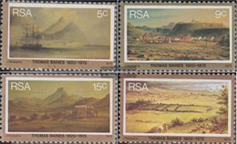 Südafrika 472-475 (completa Edizione) Usato 1975 Thomas Baines - Gebruikt