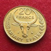 Madagascar 20 Franc 1989 FAO F.a.o.  Malagasy UNCºº - Madagascar