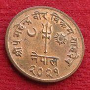 Nepal 10 Paisa 1964 Wºº - Népal