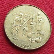 West African States 10 Francs 1981 FAO F.a.o.  Africa Afrika Afrique UNCºº - Monnaies