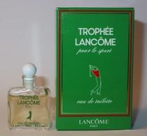 Lancôme : Trophée Pour Le Sport : Eau De Toilette 3,5 Ml,  Parfait état - Mignon Di Profumo Moderni (a Partire Dal 1961)