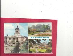NOTTINGHAM . COUNCIL HOUSE . CASTLE GROUNDS . AFFR AU VERSO LE 3 APR 1975 . 2 SCANES - Nottingham