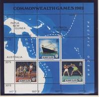 SALOMON 1982  BLOC CARTE-SPORTS-BATEAUX  YVERT N°B11  NEUF MNH** - Salomon (Iles 1978-...)