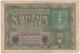 Germany P 66 - 50 Mark 24.6.1919 - Fine - [ 3] 1918-1933 : Repubblica  Di Weimar