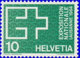 Suisse 1963. ~ YT 717** - 10 C. Exposition De Lausanne - Suisse