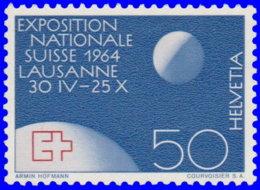 Suisse 1963. ~ YT 719** - Exposition De Lausanne. Globe Et Lune - Suisse