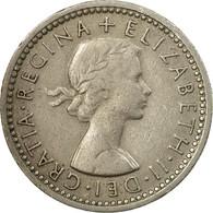 Monnaie, Grande-Bretagne, Elizabeth II, 6 Pence, 1964, TB+, Copper-nickel - 1902-1971 : Monnaies Post-Victoriennes