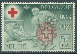 BELGIQUE - 1941 - MNH/*** LUXE - CROIX ROUGE RODE KRUIS  - COB PR44A -  Lot 17979 - Belgique