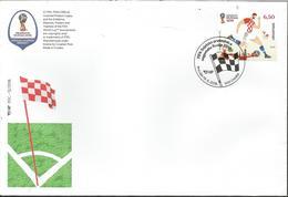 HR 2018-1324 FIFA CUP RUSSIA-2018, HRVATSKA CROATIA, FDC - Croatie