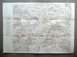 Carta Dolomiti Occidentali Rifugi Val Gardena Zone Adiacenti Anni '30 Alpi - Altri