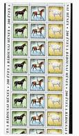 HUNGARY 1989 FULL SHEET 30 STAMPS HORSES MNH   S12692 - Hungary