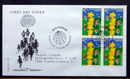 GREENLAND 2000  EUROPA  Minr.355  FDC   ( Lot 6473 ) FOGHS CORVER - FDC