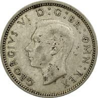 Monnaie, Grande-Bretagne, George VI, 6 Pence, 1942, TB+, Argent, KM:852 - 1902-1971 : Monnaies Post-Victoriennes
