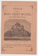 26529 Mont Saint Michel Avranches 50 France - Depliant Magasin Religieux Religieuse Notre Dame Carmel - Dépliants Touristiques