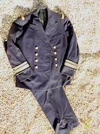 MARINE : RARE UNIFORME ATTACHE NAVAL NEW YORK 1944 - Uniforms