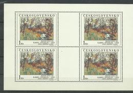 Tschechoslowakei 2789 ** Im KB - Tchécoslovaquie
