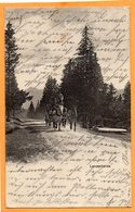 Lenzerheide Switzerland 1913 Postcard - GR Grisons