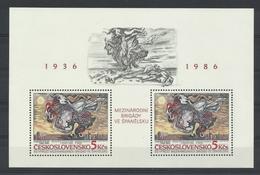 Tschechoslowakei Block 68 ** - Tchécoslovaquie